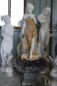Lady Marble Fountain GE18282