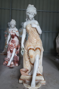 Lady Marble Fountain GE18611