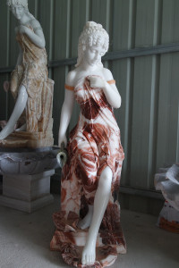 Red Lady Marble Fountain GE18797