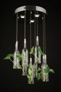 Botanical 9 Light Chandelier