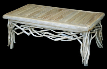 Coastal Teak Branch Coffee Table