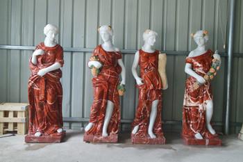 Four Season Red Marble Set GE18497