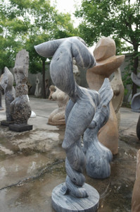 Abstract Cloud Stone Statue GE18663