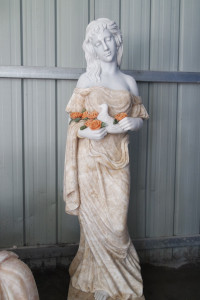 Marble Lady Statue GE18813