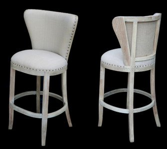 Upholsterers Cape Bar Stool