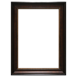 American Woods Frame 24X36 Dark Walnut Bronze