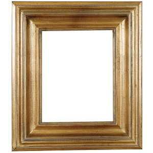 Open Woods Frame 08X10 Antique Gold