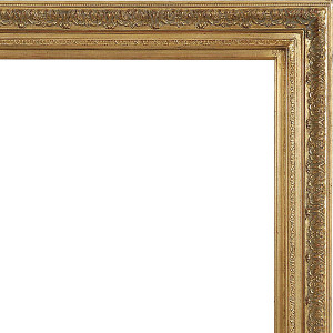 Prestige Frame 36X66 Antique Gold