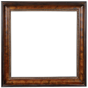 American Woods Frame 30X30 Dark Walnut Bronze