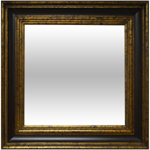 Grand Wood Frame 24X48 Old English Wood