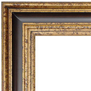 Grand Wood Frame 48X60 Old English Wood