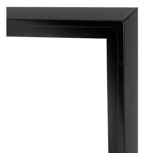 Modern Float Frame 36X36 Black