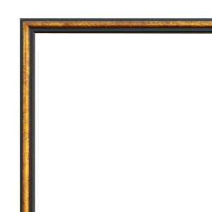 Aria Frame 72X96 Black and Gold