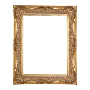 Washington Frame 12X16 Real Gold Leaf
