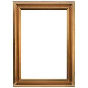 Angles Frame Gold 24X36