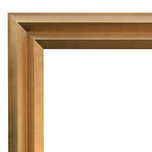 Angles Frame Gold 30X30