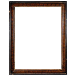 American Woods Frame 36X48 Dark Walnut Bronze