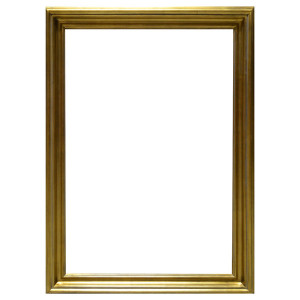 Open Woods Frame 48x60 Antique Gold Finish