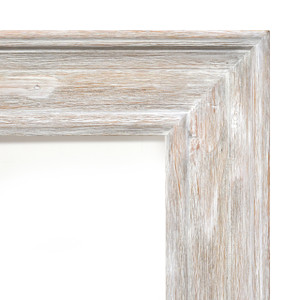 MIsty Woods Frame 12x24 Distressed White Wash