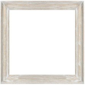 MIsty Woods Frame 30x30 Distressed White Wash