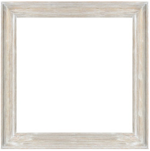MIsty Woods Frame 48x48 Distressed White Wash