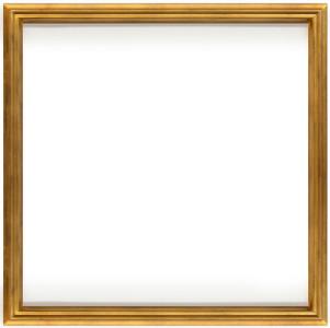 Simple Elegance 36X36 Soft Gold