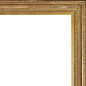 Faithful Foliate Frame 36X36 Dark Gold