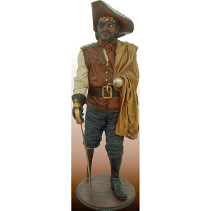Captain Wooden Leg With Base