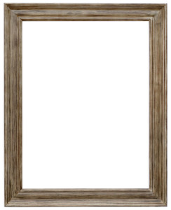 MIsty Woods Frame 48X60 Seasoned Wood Distressed