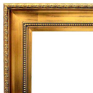 Classic Contour Frame 36X36 Gold