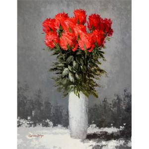 PROMO GW RED FLOWER