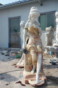 Marble Lady Fountain 18234