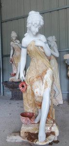 Marble Lady Fountain 18425