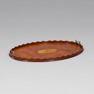 Oval Tea Tray