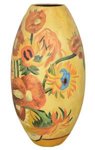 Sunflower Floor Vase