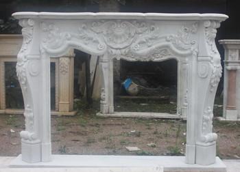 Hunan WhiteMarble Mantle