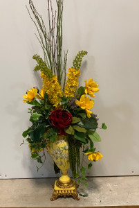 Daisy Urn Arrangement