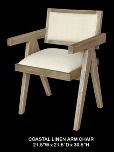 Mid Century Modern Rustic Arm Chair