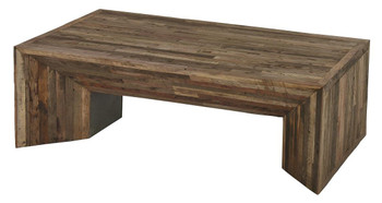 Arcadian Wood Massive  Coffee Table