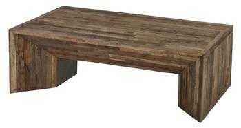 Arcadian Wood Massive  Coffee Table
