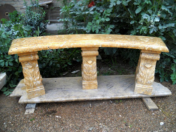 Golden Marble Bench GE17520