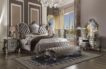 Versailles Platinum Queen Bed