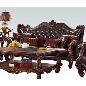 Lynchburg Chocolate Sofa with Pillows