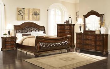 Arthur Eastern Upholstered King Bed