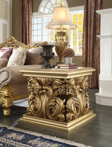 Golden Palace End Table