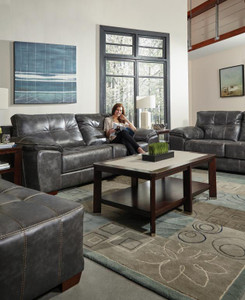 Hudson Steel Gray Sofa Set of 3