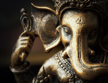 Bronze Ganesha Gallery Wrap