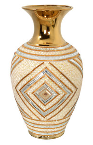 Golden Reflections Vase