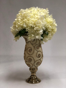 Pearl & Swirl Arrangement 6283