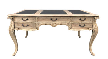 Natural Mahognay Large Chippendale Writing Desk